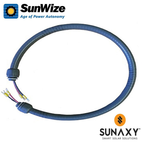 "SunWize: Module Interconnect Cable, 39"", 2x #10AWG THHN Conduit"