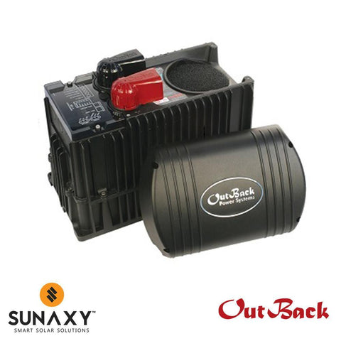OutBack Power AC/DC Inverter-Charger, 2800W, 12VDC, 120VAC, OUT VFX2812