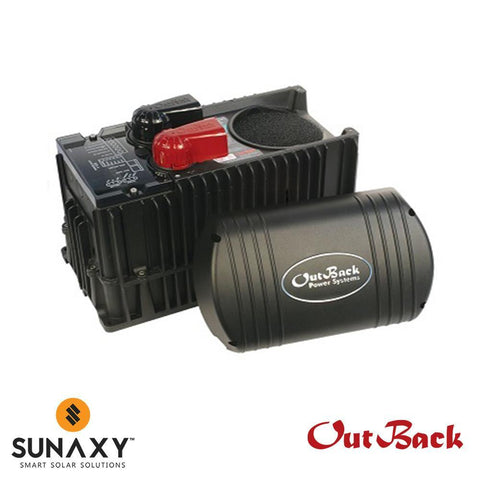 OutBack Power AC/DC Inverter-Charger, 2500W, 24VDC, 120VAC, OUT FX2524T