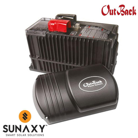 Outback Power AC/DC Inverter-Charger, 3000W, 24VDC, 230VAC, OUT VFXR3024E