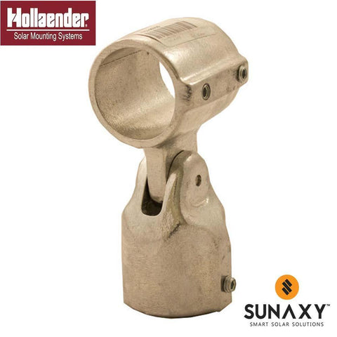 HOLLAENDER, 17-8, SINGLE ADJUSTABLE SOCKET TEE, 1-1/2IN, AL-MG