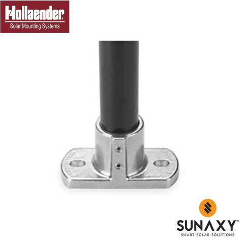 HOLLAENDER, 46-8, RECTANGULAR BASE FLANGE, 1-1/2IN, AL-MG