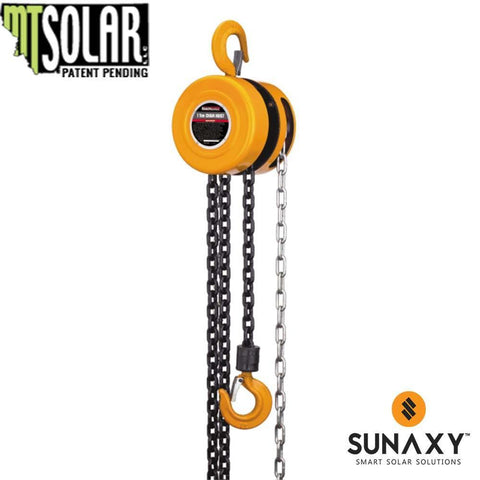 MT SOLAR, 1 TON CHAIN HOIST ACCESSORY, MT SOLAR PN 250155