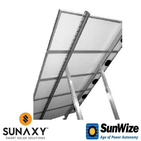 "SunWize: Roof Ground Mount, 59"", Adjustable"