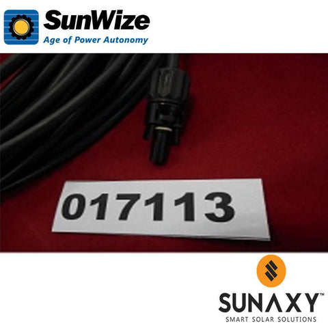 "SunWize: Module Cable, 1200"", Amphenol H4-Male/Female"