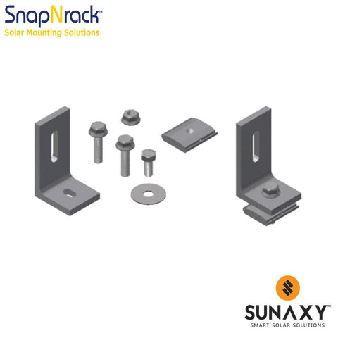 SNAPNRACK, 10-45 DEG VARIABLE TILT HARDWARE KIT
