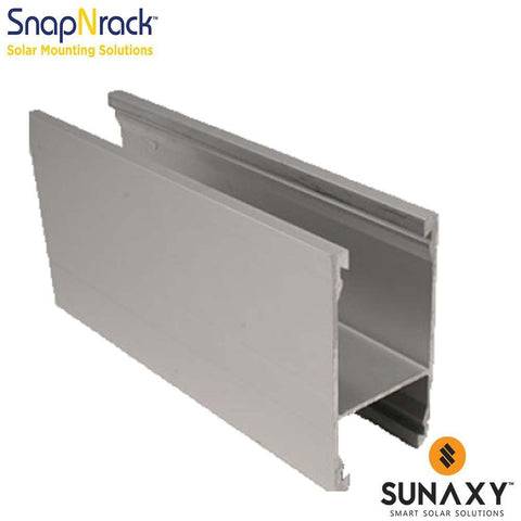 SNAPNRACK, GROUND RAIL, 162IN, SILVER