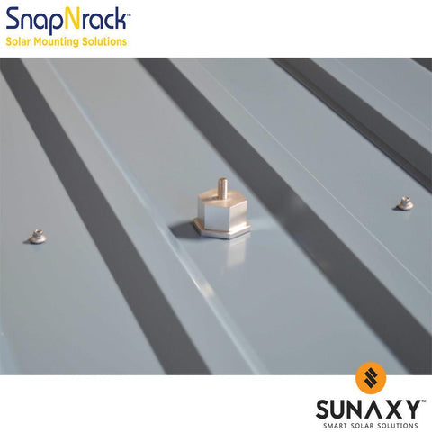 SNAPNRACK, METAL ROOF BASE