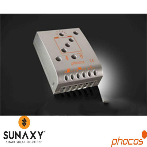 Phocos: Charge Controller, 12-24V, 20A, PWM, LVD, PHO CMLup20, USB