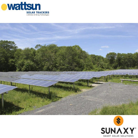WATTSUN, SINGLE AXIS SEASONAL ADJUSTABLE RACK DR-LA FOR 32FT X 62IN MODULES, 15001-1