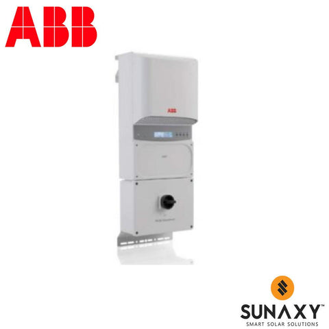 ABB, PVI-4.2-OUTD-S-US-A, NON-ISOLATED STRING INVERTER, 4200W, 208/240/277 VAC, DUAL MPPT WITH AFCI
