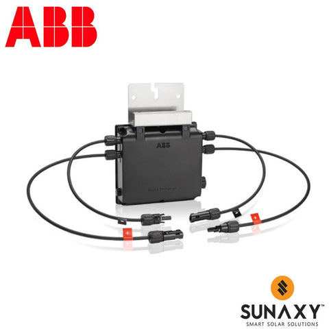 ABB, RS1-1PN6-MC4-KIT, RAPID SHUTDOWN BOX, 600VDC ONE INPUT-ONE OUTPUT 25A, NEC 690.12 & NEMA 4X, ACCESSORY KIT