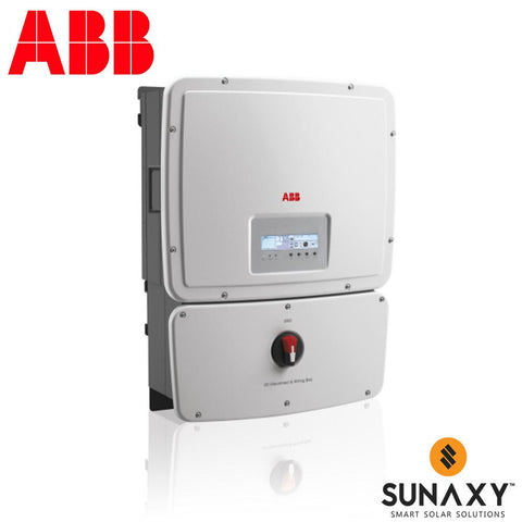 ABB, UNO-8.6-TL-OUTD-S-US-A, NON-ISOLATED STRING INVERTER, 8600W, 240/277VAC