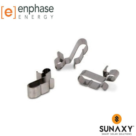 ENPHASE, ET-CLIP-100, CABLE CLIP, 100 PACK