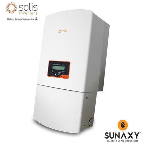 GINLONG, SOLIS-1P7.6K-4G-US, NON-ISOLATED STRING INVERTER, 7600W, 240/208
