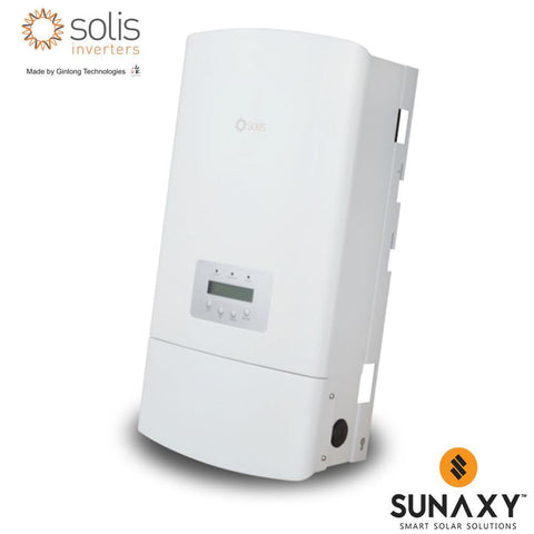 GINLONG, SOLIS-3.6K-2G-US, NON-ISOLATED STRING INVERTER, 3600W, 240/208