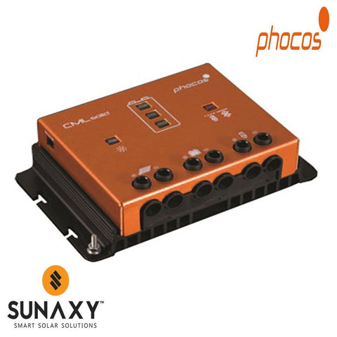 Phocos: Charge Controller, 12-24V, 30A, PWM, LVD, PHO CMLsolid30