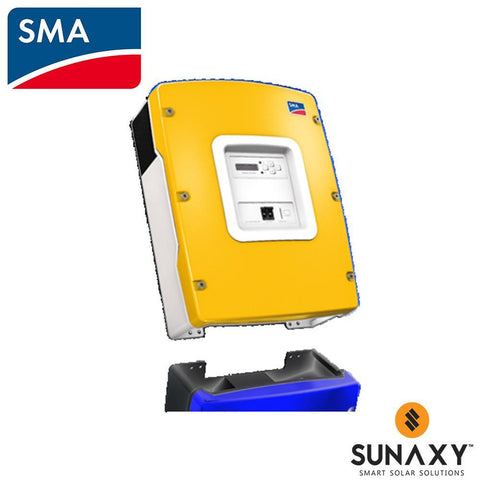 SMA, SUNNY ISLAND SI6048-US-10, BATTERY INVERTER, GRID TIE, 6000W 48V 60HZ SMARTFORMER COMPATIBLE