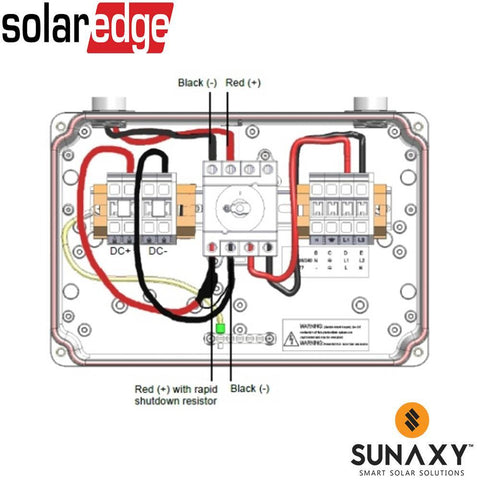 SOLAREDGE, SE1000-RSD-S2, ACCESSORY, WIRE KIT FOR RAPID SHUTDOWN COMPLIANCE, 3 PHASE SE9KUS INVERTER , 5 PACK WITH 1 MEMORY CARD
