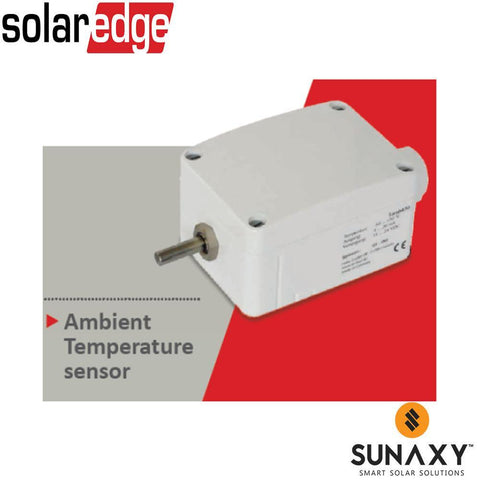 SOLAREDGE, SE1000-SEN-TAMB-S1, AMBIENT TEMPERATURE SENSOR, REQUIRES SE1000-SEN-PSU 24VDC POWER SUPPLY