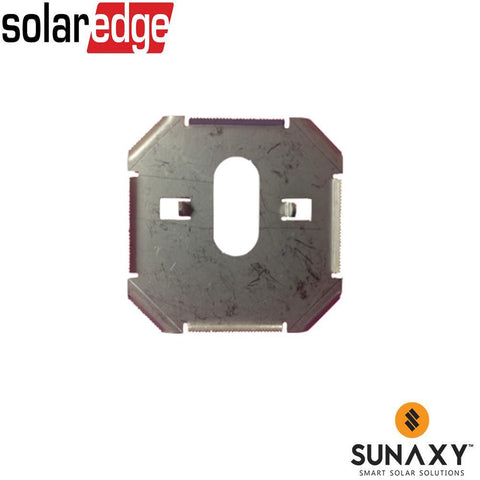 SOLAREDGE, SE-GNDPLATE-100, ACCESSORY, FOR GROUNDING SE OPTIMIZER TO SNAPNRACK RAILS