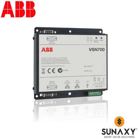 ABB, VSN700-01, METER/DATA LOGGER, DATALOGGER FOR UP TO 5 RESIDENTIAL STRING INVERTERS