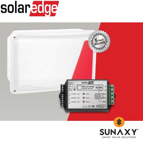 SOLAREDGE, SE-MTR240-0-000-S1, SOLAREDGE ELECTRICITY METER, 1PH-120/240VAC, MUST ADD CTs, NEMA 3R ENCLOSURE