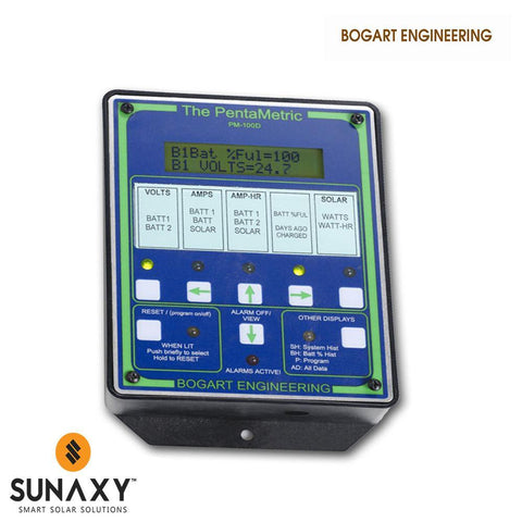 Bogart Engineering: Battery Monitor, Bogart PentaMetric PM-100-D
