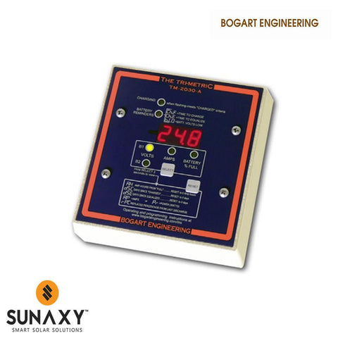 Bogart Engineering: Battery Monitor, Bogart Digital Meter TM2030