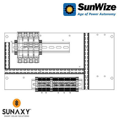 "SunWize: PO Control Panel, 15"" x 7.5"", 45 Watts, 12/24 Volts"