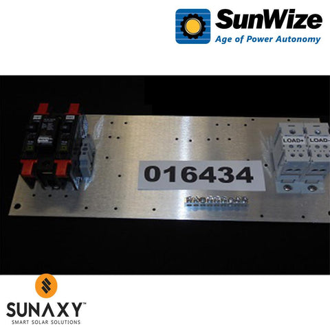 "SunWize: PR Control Panel, 15"" x 6.5"", 10 Amps, 12/24 Volts"