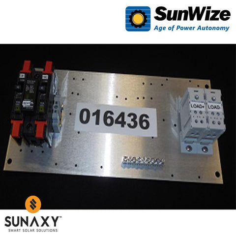 "SunWize: PR Control Panel, 15"" x 6.5"", 30 Amps, 12/24 Volts"