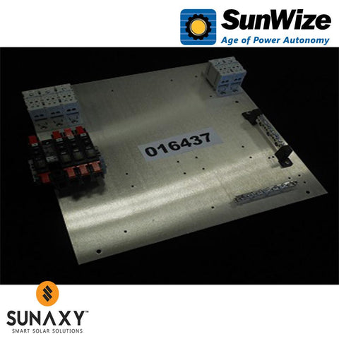 "SunWize: PR Control Panel, 17"" x 17"", 45/60 Amps, 12/24/48 Volts"
