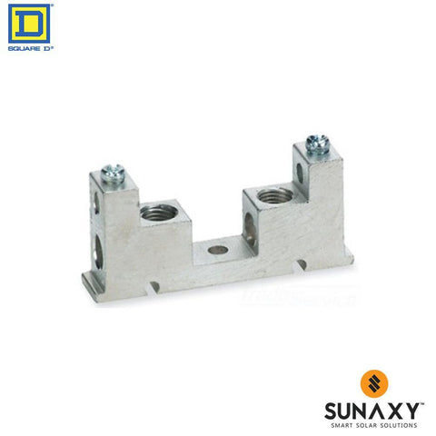 BUSBAR, SQUARE D, GTK0610, GROUND BUS KIT
