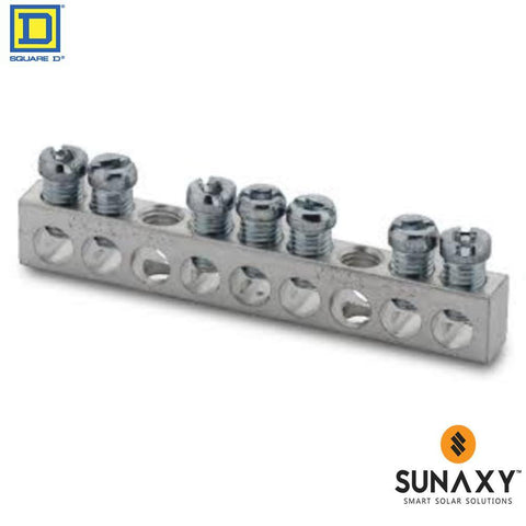 BUSBAR, SQUARE D, PK7GTA, GROUND BUS KIT