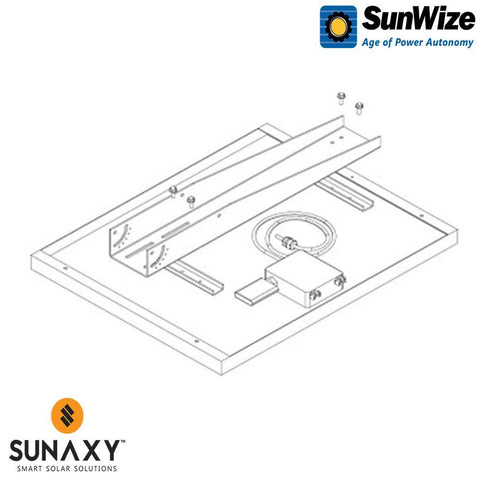 SunWize: PVK 4 With Side of Pole Mount