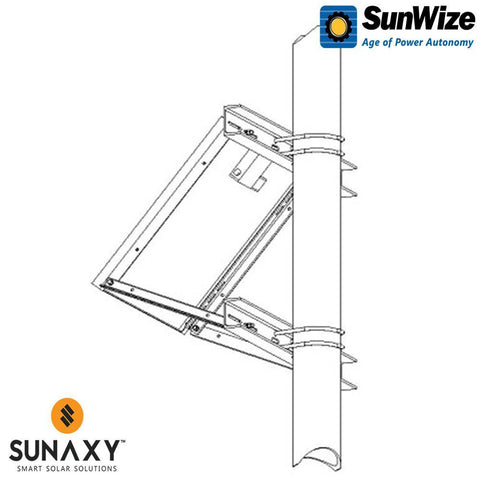 SunWize: PVK 6 With Side of Pole Mount