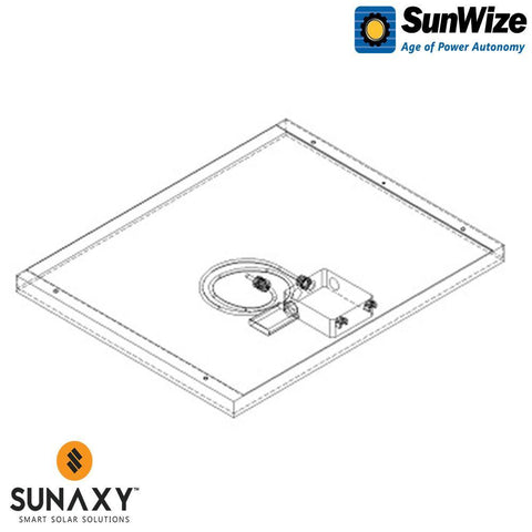 SunWize: PVK 8 W/O Side of Pole Mount