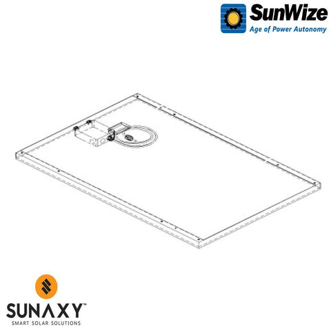 SunWize: PVK 10 W/O Side of Pole Mount