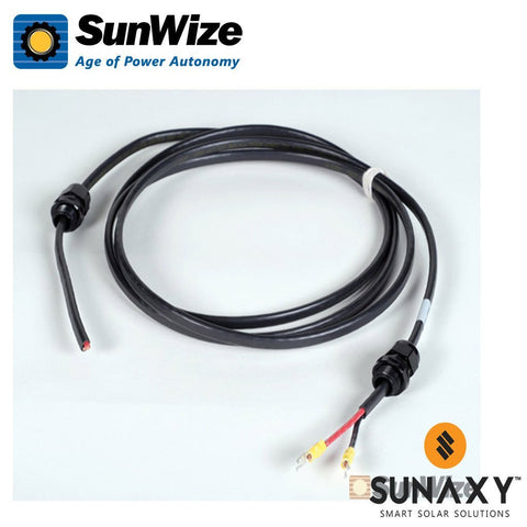 SunWize: Module Cable, 10', #10/2AWG