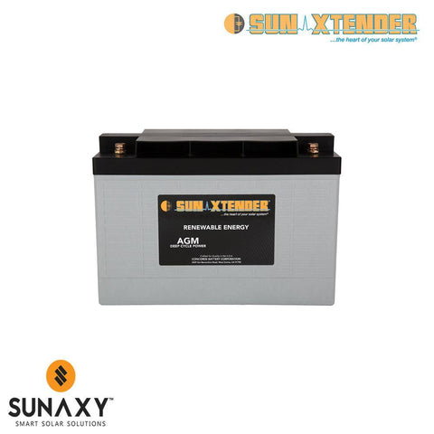 Concorde: Battery, 12V, 125Ah at C/100, AGM, Concorde PVX-1080T