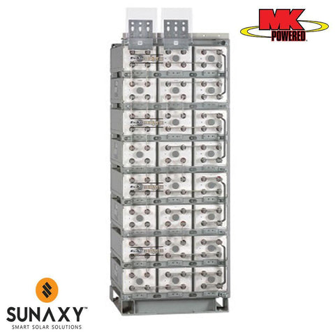 MK Battery: Battery, 2V, 2151.3H at C/100, Unigy 3AVR95-33 IL