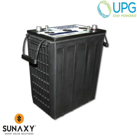 Universal Power Group Inc: Battery, 6V, 416Ah at C/100, AGM, UPG 40870