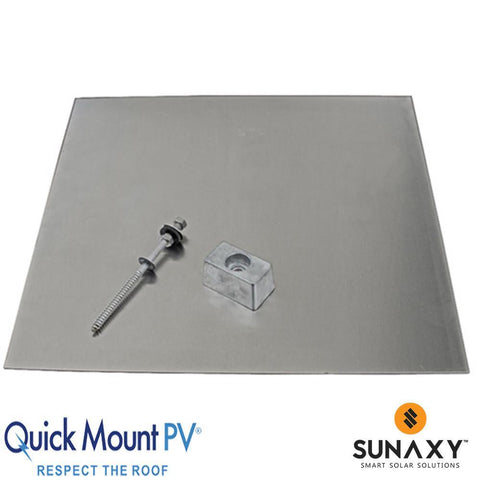 Quick Mount QMSC A 12 PV Composition Flashing - Single