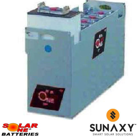Solar-One HUP SO-6-100-33 24V Flooded Battery