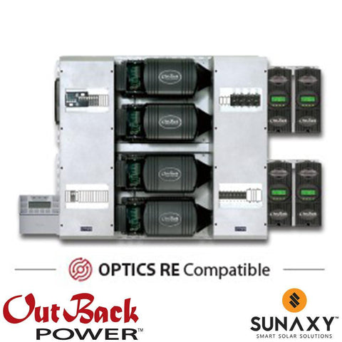 Outback Power Outback FP4 FXR3048A, FM80 FLEXpower FOUR, Quad Inverter System Power Center