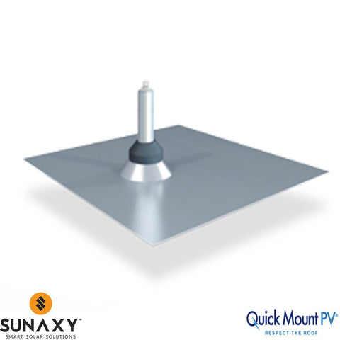 Quick Mount QMSFT A 1 PV Standard Flat Tile Flashing - Single