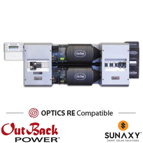 Outback Power FP2 VFXR3648A w/ FM80 FLEXpower TWO Power Center
