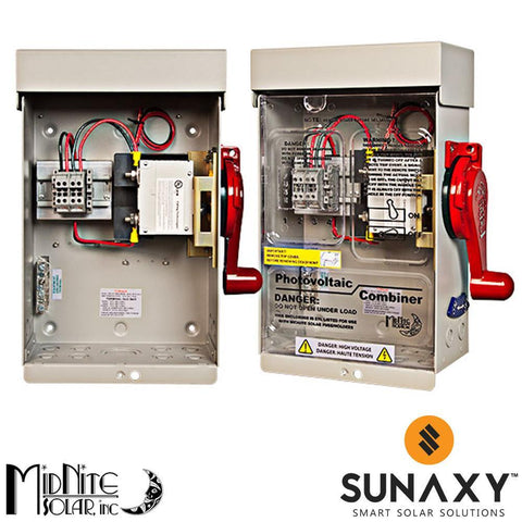MidNite Solar MNSOB3R-2P-PSB - Disconnect with installed Power Supply Board