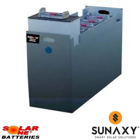 Solar-One HUP SO-6-85-19 48V Flooded Battery